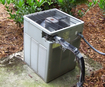 Different types of air conditioning units ac systems for Ac condenser pad installation